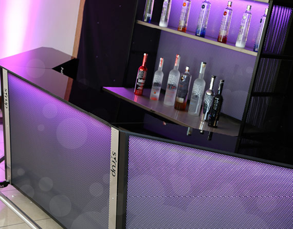 syrup bar dry hire